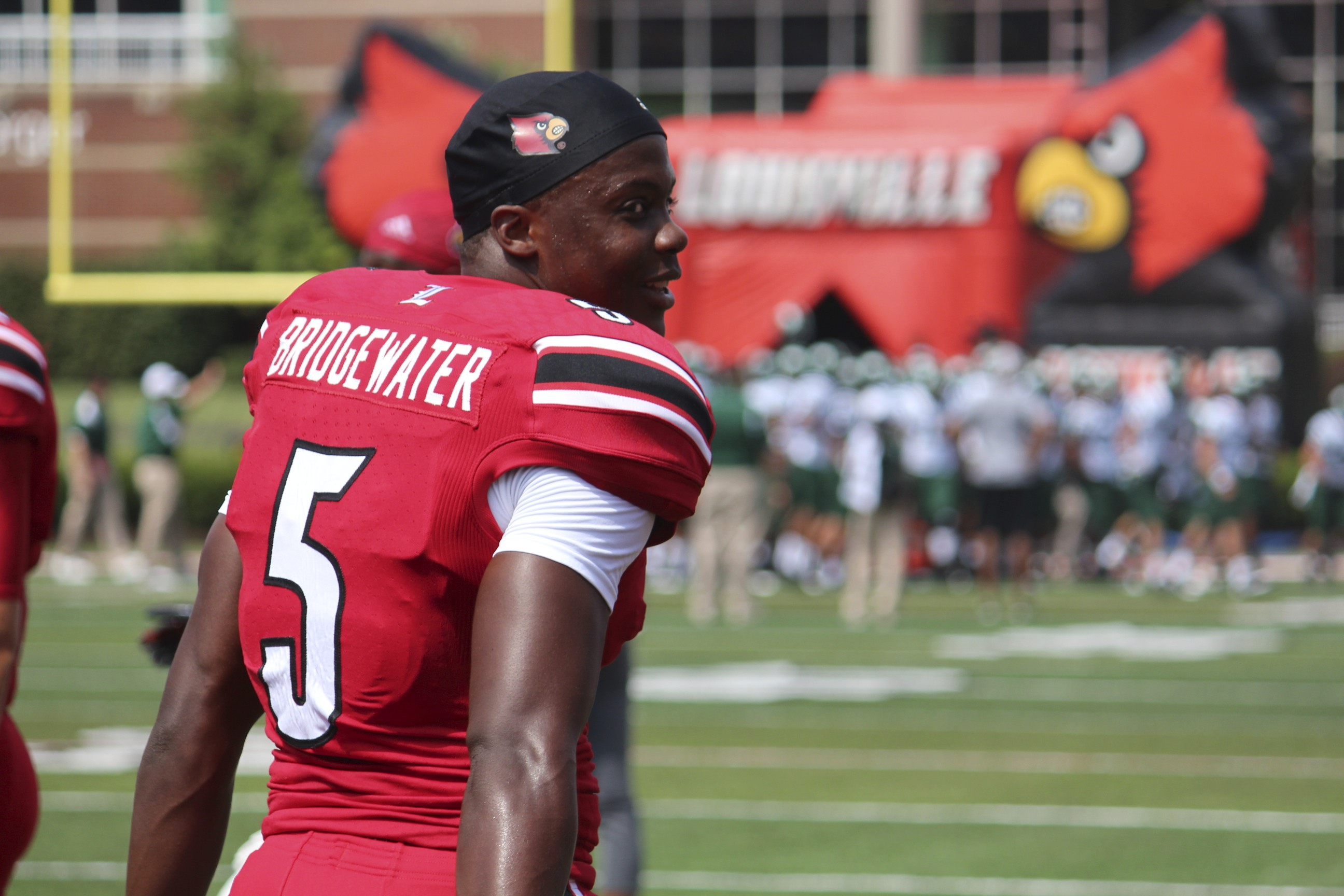 Teddy Bridgewater Louisville vs. Ohio 2013 Photo by Mike Lindsay