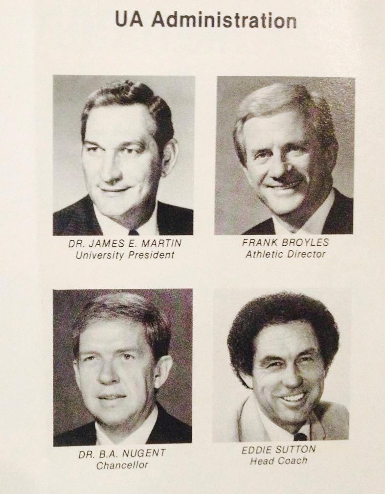 1983 Arkansas Sutton