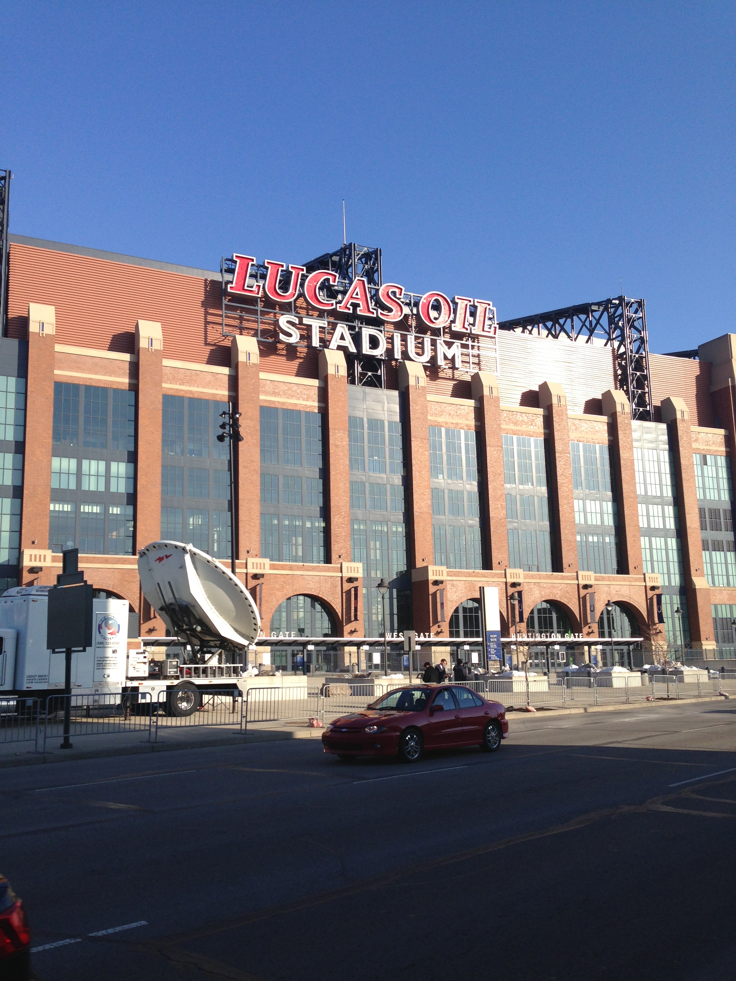 Lucas Oil Stadium Photo by Mark Blankenbaker