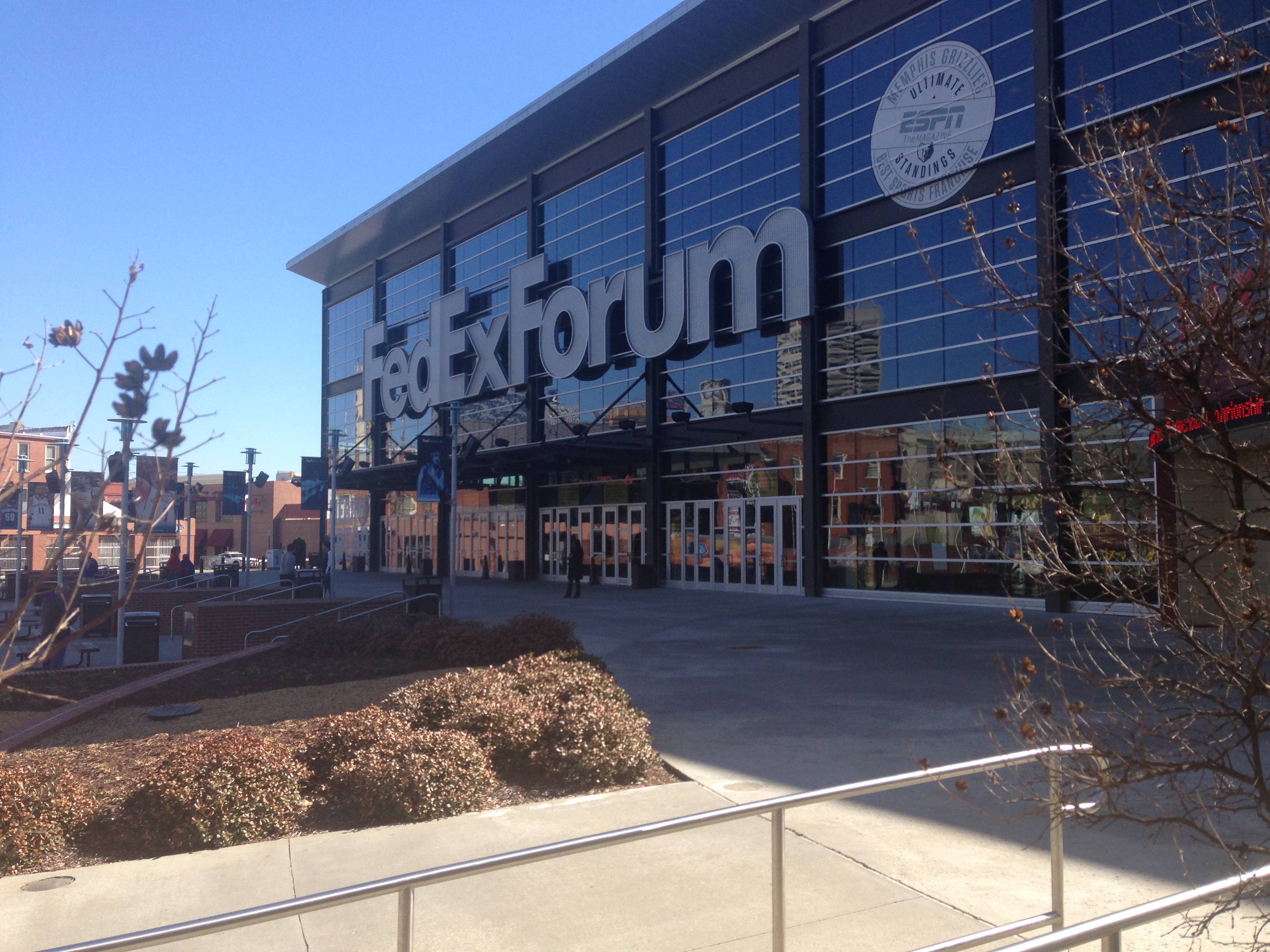 FedEx Forum Memphis, TN Photo by Mark Blankenbaker