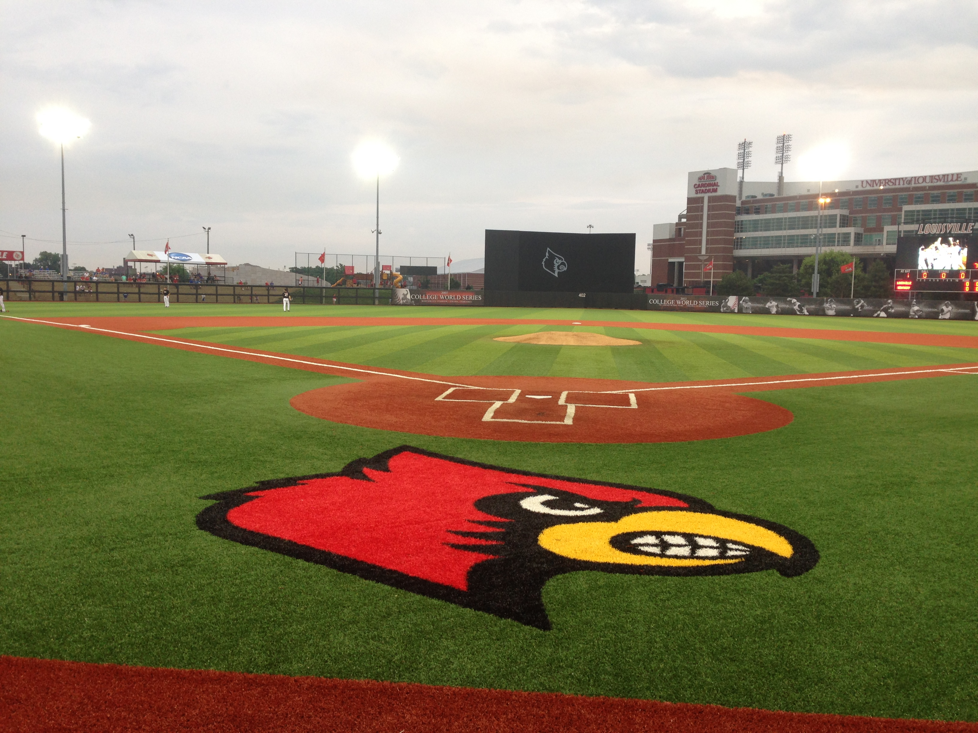 Louisville Baseball, Jim Patterson Stadium Photo by Mark Blankenbaker