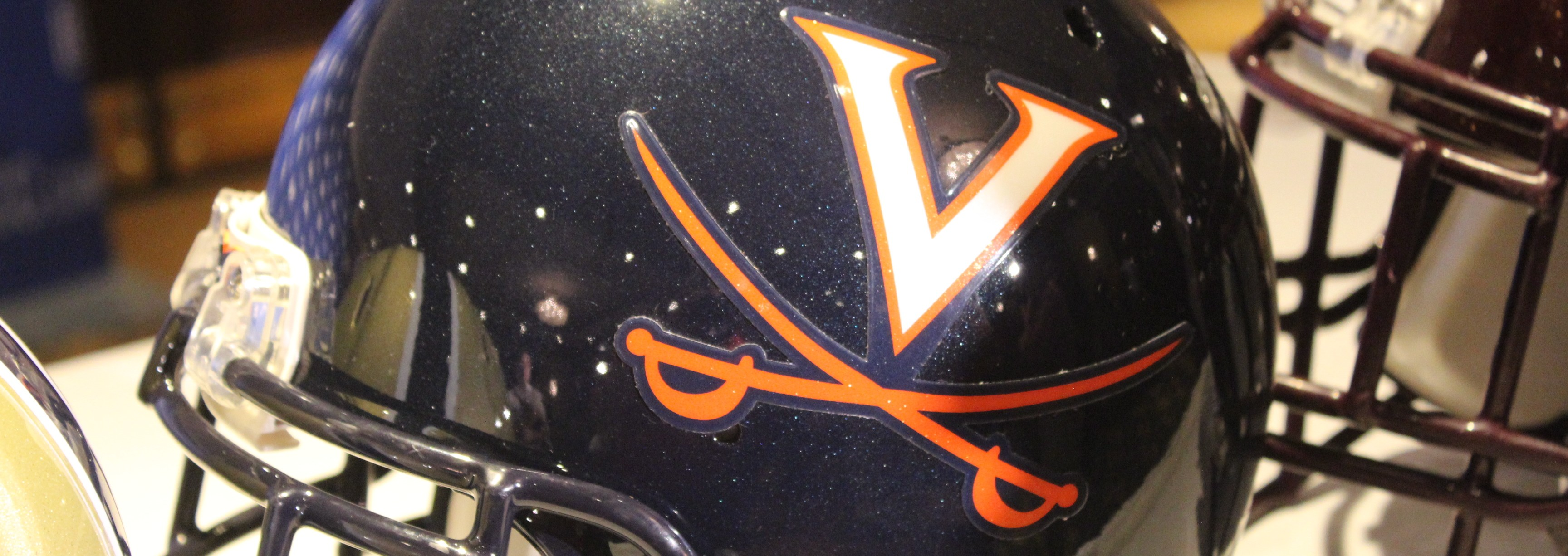 Virginia Helmet 2014 ACC Kickoff Photo by Mark Blankenbaker Fitted