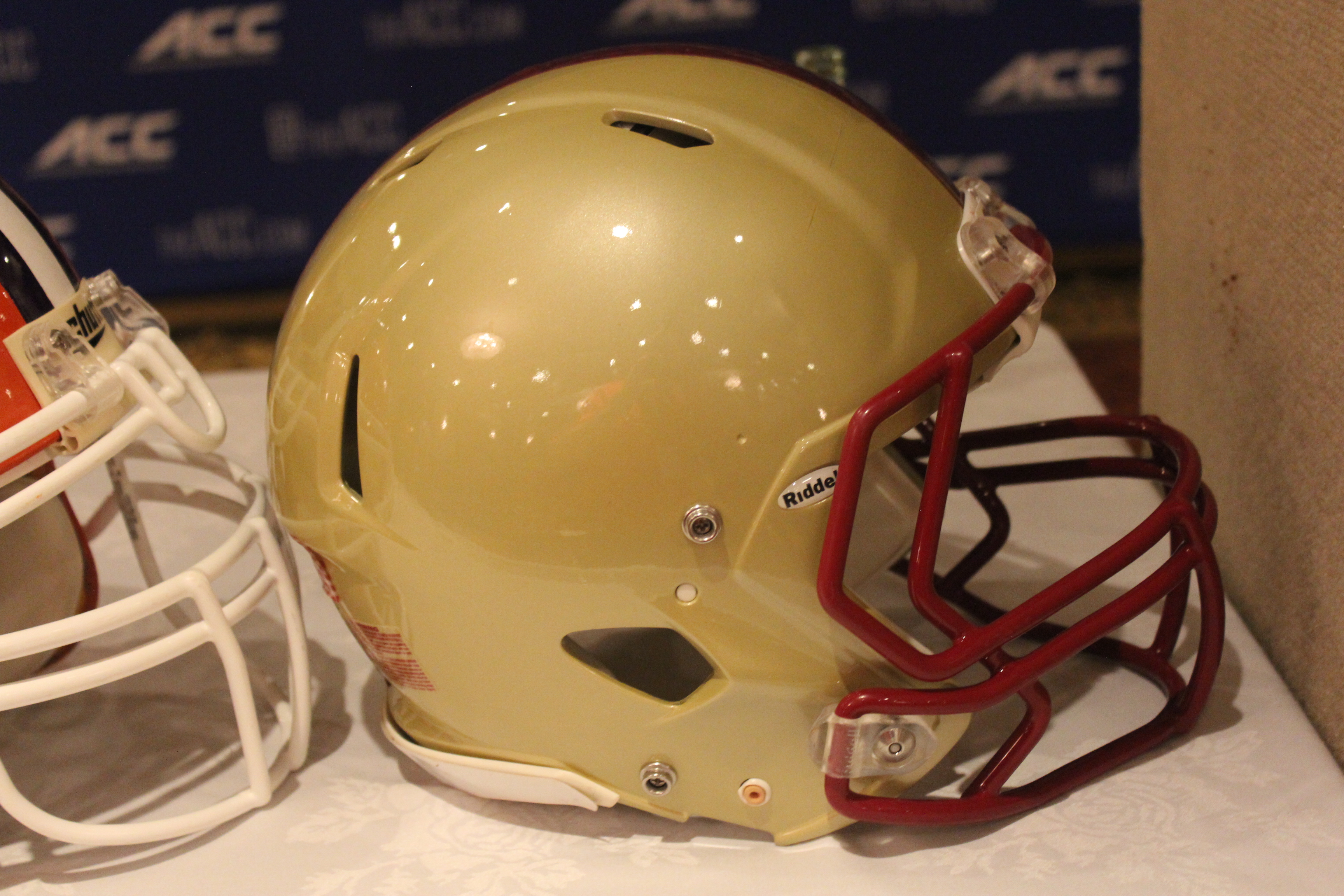 Boston College Helmet 2014 ACC Kickoff Photo by Mark Blankenbaker
