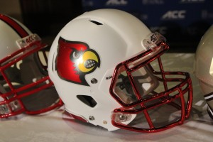 2014 Louisville Football Helmet