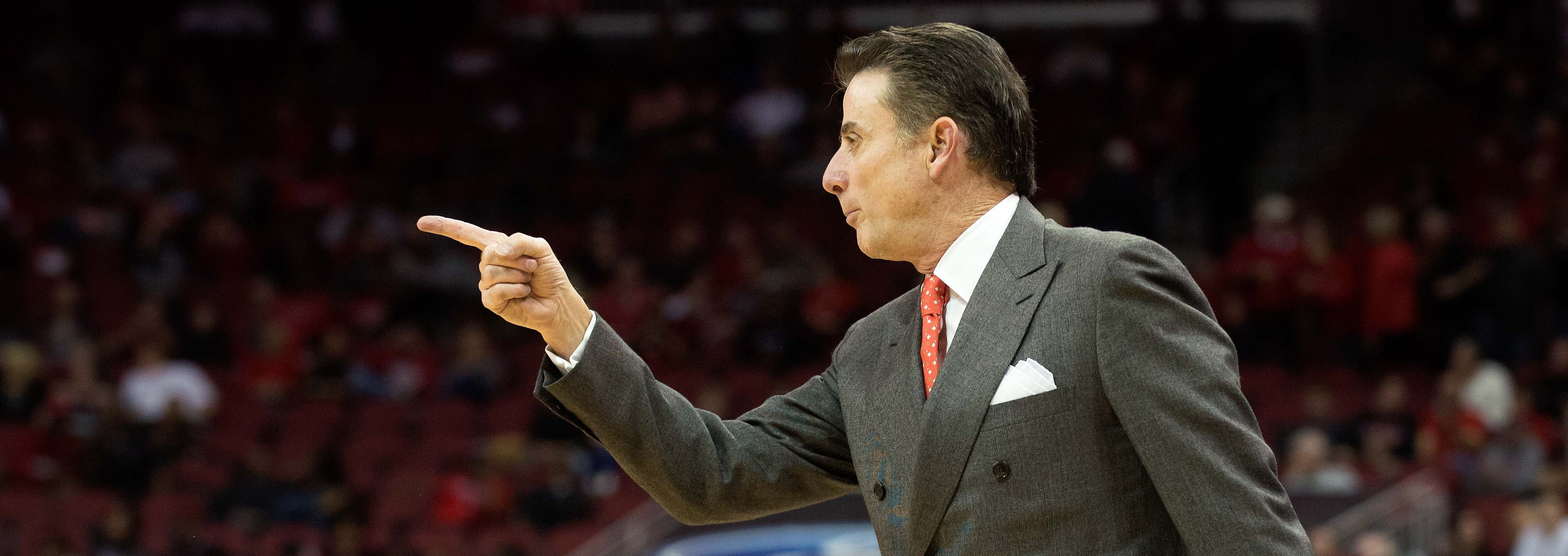 Pitino vs. Savannah State Photo by Adam Creech