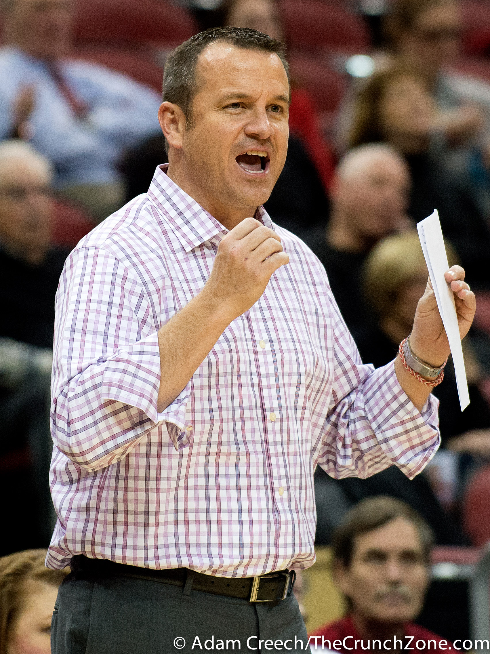 Jeff Walz Louisville vs. Belmont Photo By Adam Creech