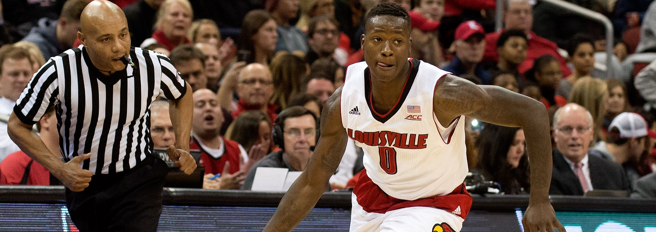 Terry Rozier vs. Jacksonville State 11-17-2014 Photo by Adam Creech Fitted