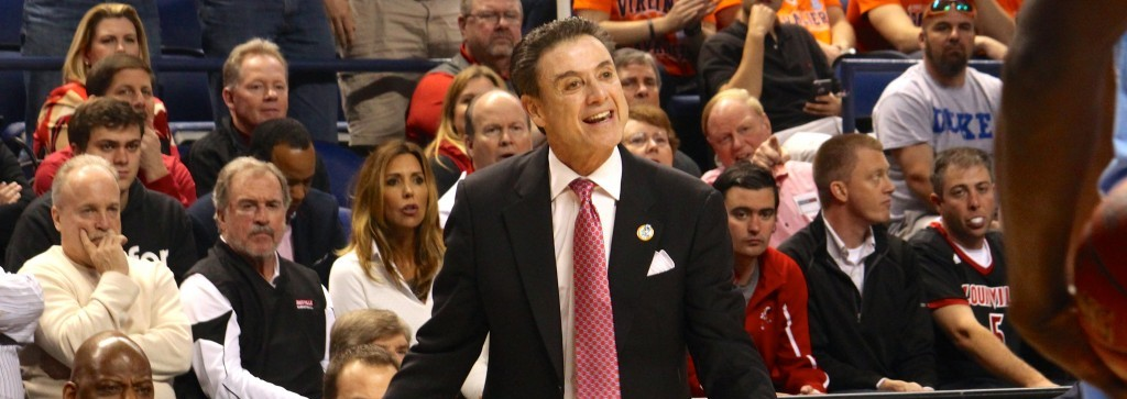 Rick Pitino, Tom Jurich, Bobby Petrino, and James Ramsey Fitted