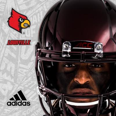 Chromeville Adidas Jersey Louisville Football 2015