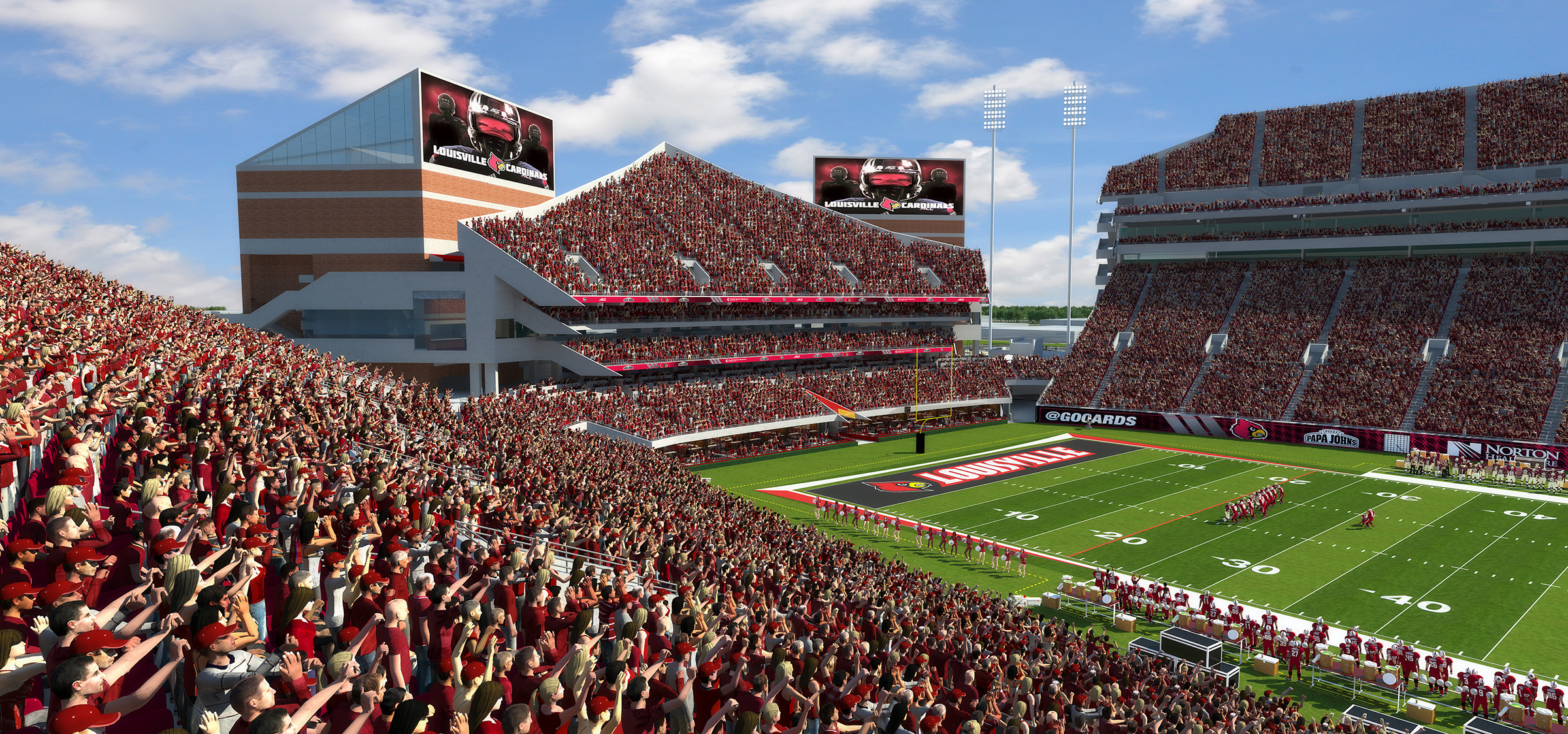 PJCS Endzone Expansion Inside View of Bowl