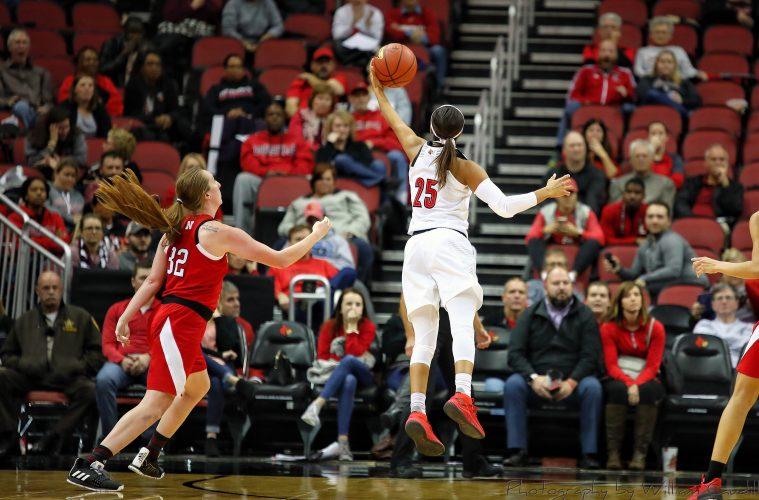 Asia Durr Louisville vs. Nebraska 11-29-2018 Photo by William Caudill, TheCrunchZone.com