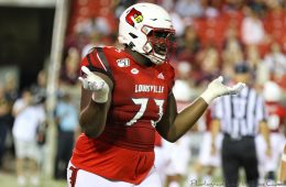 Mekhi Becton Louisville Football vs. Eastern Kentucky 9-7-2019 Photo by William Caudill, TheCrunchZone.com Mekhi Becton Louisville Football vs. Eastern Kentucky 9-7-2019 Photo by William Caudill, TheCrunchZone.com