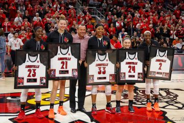 Jeff Walz Louisville Women's Basketball Senior 2020