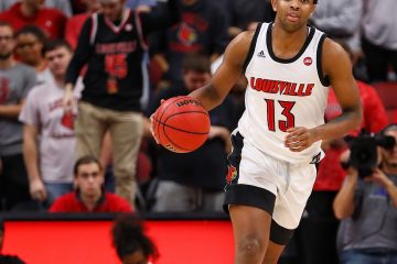 David Johnson Louisville vs. USC Upstate 11-17-2019 Photo by William Caudill, TheCrunchZone.com