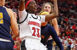 Jazmine Jones Louisville Women's Basketball vs.Murray State 11-8-2019 Photo by William Caudill, TheCrunchZone.com