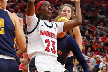 Jazmine Jones Louisville Women's Basketball vs.Murray State 11-8-2019 Photo by William Caudill, TheCrunchZone.com