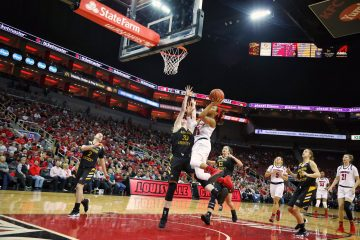Asia Durr Louisville vs. Northern Kentucky 12-15-2018 Photo by William Caudill, TheCrunchZone.com