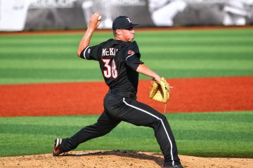 Brendan McKay Louisville Baseball vs. Florida State 5-18-2017 Photo by William Caudill TheCrunchZone.com