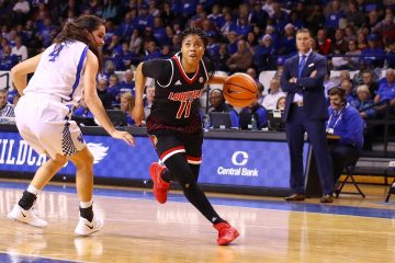 Arica Carter Louisville vs. Kentucky 12-17-2017 Photo by William Caudill TheCrunchZone.com