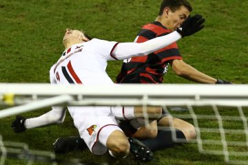 Tate Schmitt Louisville vs. Stanford (NCAA Soccer) 12-3-2016 Photo by William Caudill TheCrunchZone.com