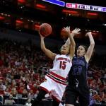 Dakota Weatherford Louisville vs. Central Arkansas 3-18-2016 Photo by William Caudill