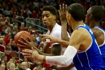 Ray Spalding Louisville vs. Duke 1-14-2017 Photo By William Caudill TheCrunchZone.com