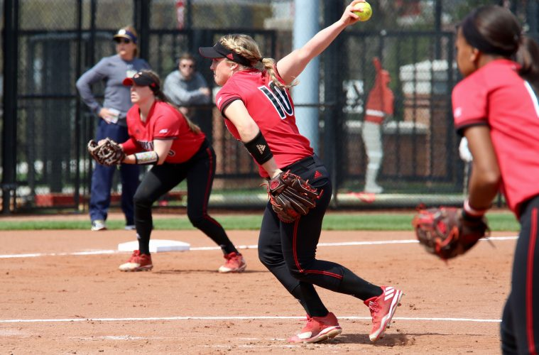 Louisville Softball vs. Notre Dame 4-2-2017 Photo by William Caudill TheCrunchZone.com