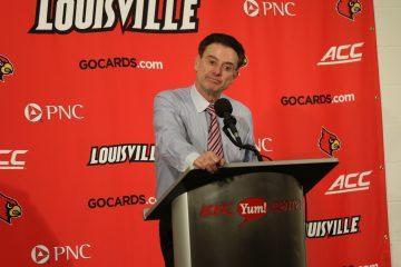Rick Pitino Louisville vs. Duke 1-14-2017 Photo By William Caudill TheCrunchZone.com