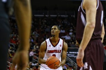 VJ King, Louisville Basketball vs. Bellarmine by William Caudill, 11-7-2017, TheCrunchZone.com