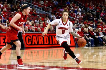 Briahanna Jackson Louisville vs. Western Kentucky 12-11-2016 Photo by William Caudill TheCrunchZone.com