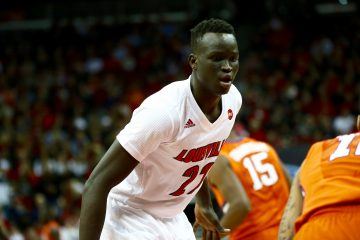 Deng Adel Louisville vs. Clemson 1-19-2017 Photo By William Caudill TheCrunchZone.com