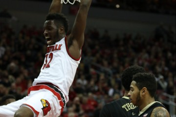 Chinanu Onuaku vs. Wake Forest 1-3-2016 Photo by William Caudill