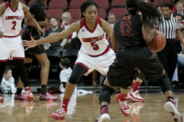 Taja Cole Louisville vs. Virginia Tech 1-7-2016 Photo by William Caudill