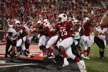 Dae Williams Louisville vs. Western Kentucky 9-15-2018 Photo by Torrin Madden, TheCrunchZone.com