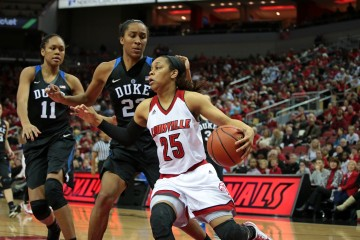 Asia Durr Louisville vs. Duke 1-10-2016 Photo by William Caudill