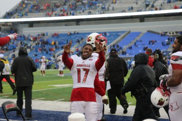 James Quick Louisville vs. Kentucky 2015 Governor's Cup 11-28-2015 Photo by William Caudill