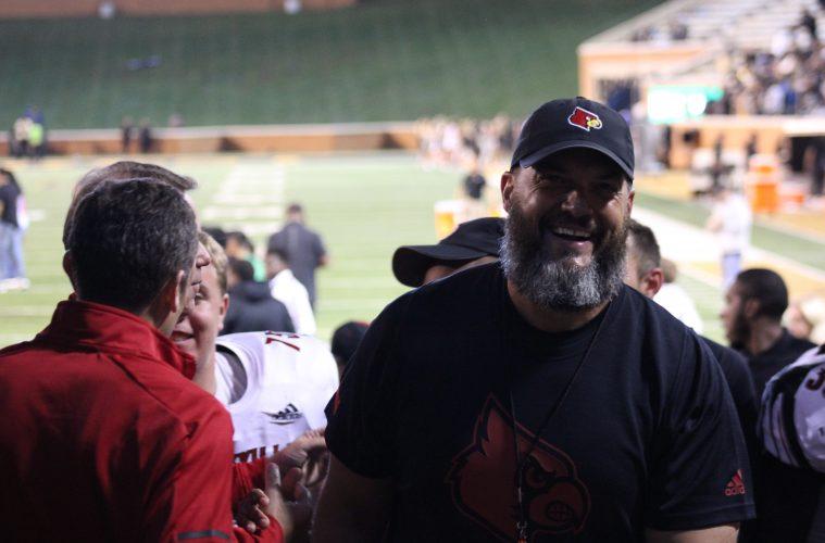 Dwayne Ledford Louisville vs. Wake Forest 10-12-2019 TheCrunchZone.com, Photo by Drew Poynter