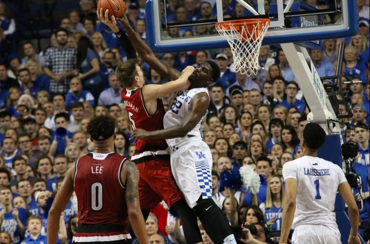 Matz Stockman Louisville vs. Kentucky Basketball 12-26-2015 Photo by William Caudill