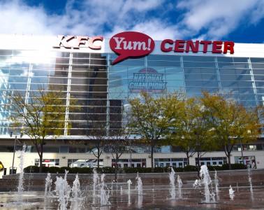 KFC Yum! Center Photo by Seth Bloom