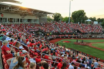 Jim Patterson Stadium Louisville Baseball vs. Florida State 5-18-2017 Photo by William Caudill