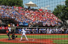 Crowd at Jim Patterson Stadium Louisville Baseball vs. Kentucky NCAA Super Regional 6-10-2017 Photo by William Caudill TheCrunchZone.com