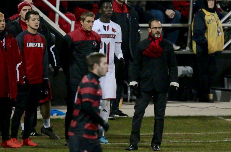 Ken Lolla Louisville vs. Stanford (NCAA Soccer) 12-3-2016 Photo by William Caudill TheCrunchZone.com