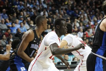 Deng Adel Louisville vs. Duke 3-9-2017 Photo by Mark Blankenbaker TheCrunchZone.com