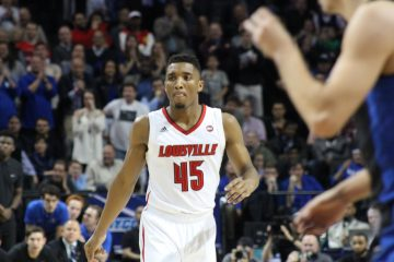 Donovan Mitchell Louisville vs. Duke 3-9-2017 Photo by Mark Blankenbaker TheCrunchZone.com