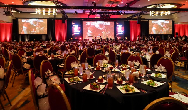 Louisville Football Kickoff Luncheon, Photo by Cindy Rice Shelton 8-15-2017, TheCrunchZone.comA