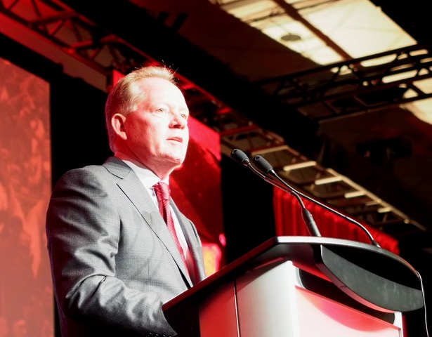 Bobby Petrino Louisville Football Kickoff Luncheon, Photo by Cindy Rice Shelton 8-15-2017, TheCrunchZone.com