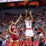Malik WIlliams, Ky Bowman Louisville vs. Boston College 1-21-2018 Photo by William Caudill, TheCrunchZone.com