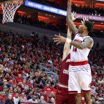Ray Spalding Louisville vs. Boston College 1-21-2018 Photo by William Caudill, TheCrunchZone.com