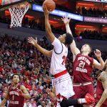 Dwayne Sutton Louisville vs. Boston College 1-21-2018 Photo by William Caudill, TheCrunchZone.com