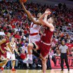 VJ King Louisville vs. Boston College 1-21-2018 Photo by William Caudill, TheCrunchZone.com
